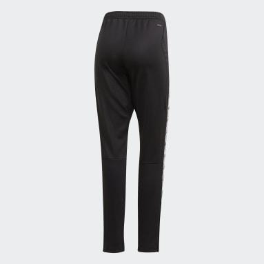 Women's Soccer Black Tiro 19 Training Pants