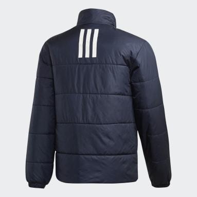 Veste d'hiver BSC 3-Stripes Insulated Bleu Hommes City Outdoor
