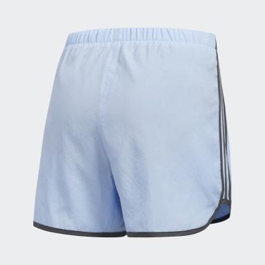 Women's Running Blue Marathon 20 Shorts