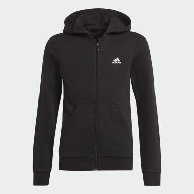 Girls Lifestyle Black adidas Essentials Track Jacket