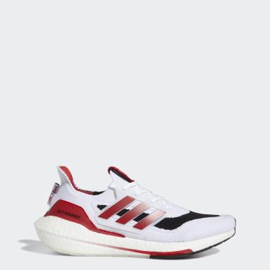 Running White Nebraska Ultraboost 21 Shoes