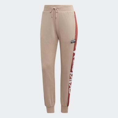 Women's Originals Beige Cuffed Pants