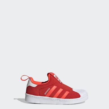 Kinder Originals Superstar 360 Schuh Rot