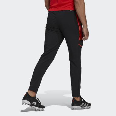Pantalon de présentation de rugby All Blacks Noir Hommes Rugby