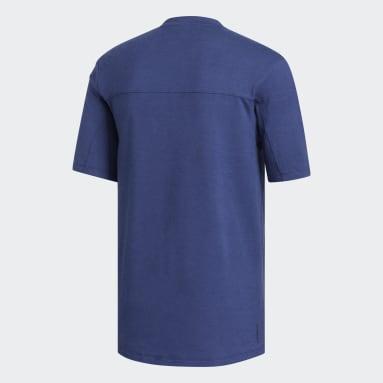 Men Yoga Blue TKO Tee