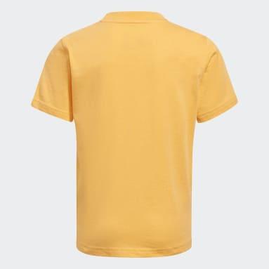 T-shirt adidas SPRT Collection Graphic Orange Enfants Originals