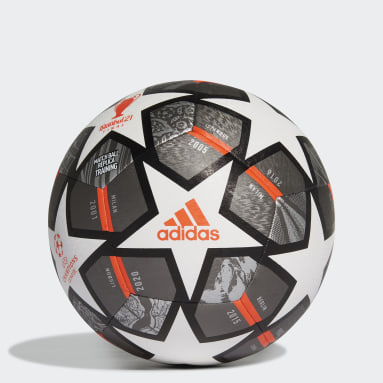 Men Football White Finale 21 20th Anniversary UCL Textured Training Ball