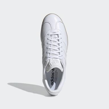 Tenis Gazelle Blanco Hombre Originals