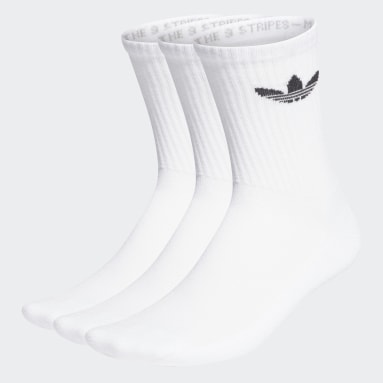 Chaussettes Cushioned Trefoil Mid-Cut (3paires) Blanc Originals