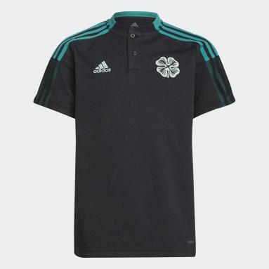 Polo Tiro Celtic FC Nero Bambini Calcio