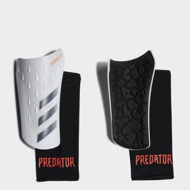 белый Футбольные щитки Predator League