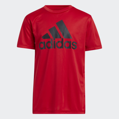 Youth Training Red Performance Tee (Extended Size)