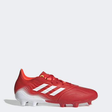 Men's Soccer Red Copa Sense.2 Firm Ground Cleats