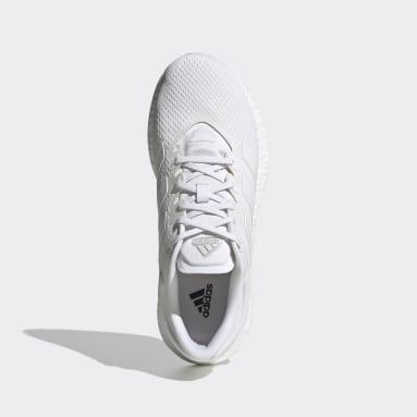 Running White Pureboost Select Shoes