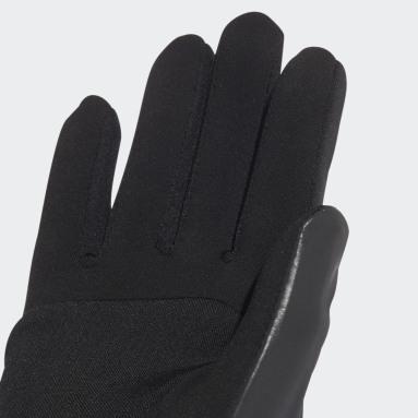 Women adidas by Stella McCartney Black adidas by Stella McCartney Gloves