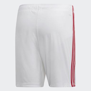 Shorts Uniforme Titular Arsenal Blanco Hombre Fútbol
