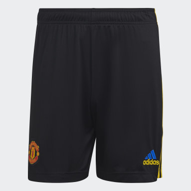 Football Black Manchester United 21/22 Third Shorts