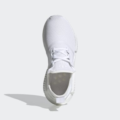 Kids Originals White NMD_R1 Shoes