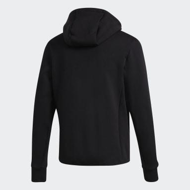 Mænd Overtøj Med Gadestil Sort Varilite Hybrid jakke