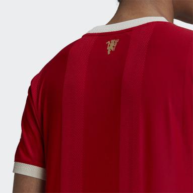 Dam Fotboll Röd Manchester United 21/22 Home Authentic Jersey