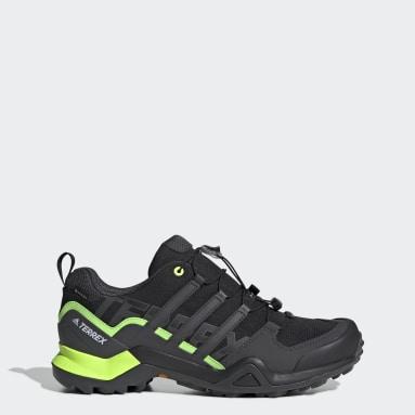 Men TERREX Black Terrex Swift R2 GORE-TEX Hiking Shoes