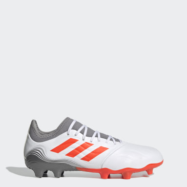 Men Football White Copa Sense.3 Firm Ground Boots
