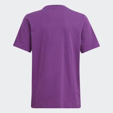 Camiseta adidas Adventure Violeta Niño Originals