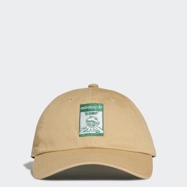 Originals Beige Not Easy Being Green Dad Cap
