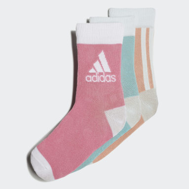 Kids Sports Green Ankle Socks 3 Pairs