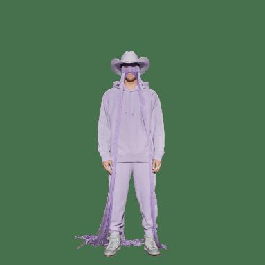 Sweat-shirt à capuche IVY PARK French Terry Violet Originals