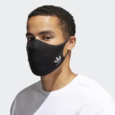 Men Originals Black Face Covers - Not For Medical Use
