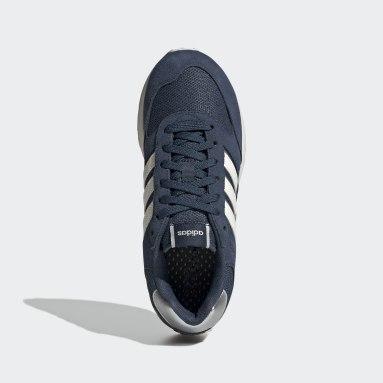 Dames Hardlopen Blauw Run 80s Schoenen