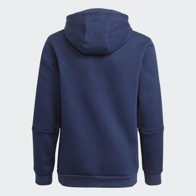 Sweat-shirt à capuche Tiro 21 Bleu Enfants Football