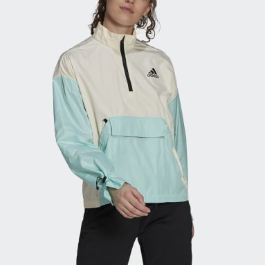 Women City Outdoor White Back to Sport WIND.RDY Anorak