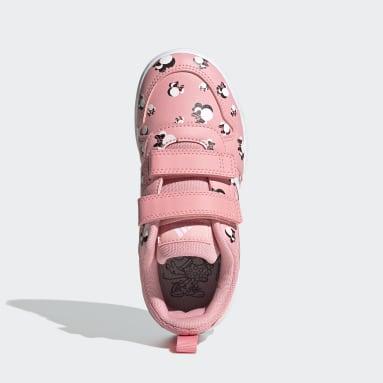 Kids Running Pink Tensaur Shoes