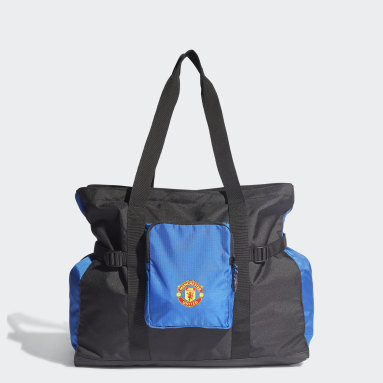 Football Black Manchester United Tote Bag