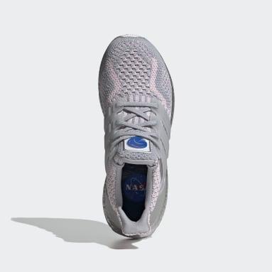Women Running Grey Ultraboost 5.0 DNA Shoes