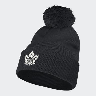 Men Sportswear Multi Maple Leafs Cuffed Pom Beanie