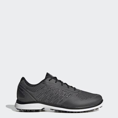 Women's Golf Black Alphaflex Sport Spikeless Golf Shoes