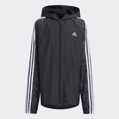 Boys Gym & Träning Svart Track Suit Woven Jacket
