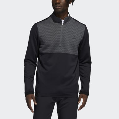 Sudadera Recycled Content COLD.RDY Quarter-Zip Negro Hombre Golf