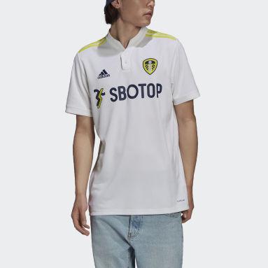 Fodbold Hvid Leeds United FC 21/22 hjemmebanetrøje