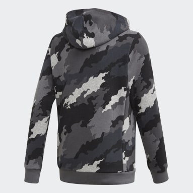 Boys Training Grey Must Haves Badge of Sport Pullover