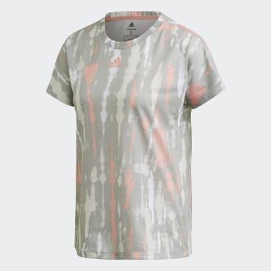 Polera Allover Print Blanco Mujer adidas by Stella McCartney