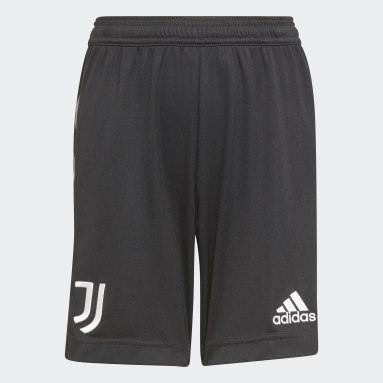 Short Extérieur Juventus 21/22 Noir Enfants Football