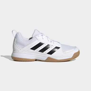 Kids Table Tennis White Ligra 7 Indoor Shoes
