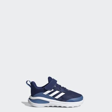 Zapatillas FortaRun Cordones Elásticos Tira de Ajuste Running Azul Niño Running