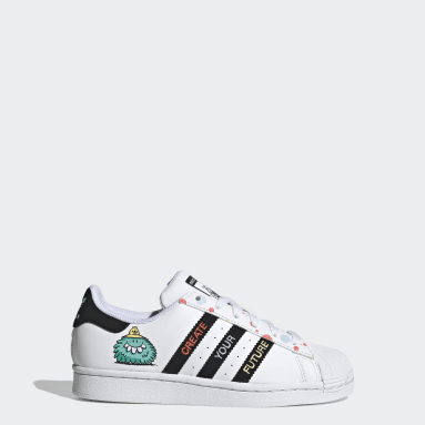 Youth Originals White adidas x Kevin Lyons Superstar Shoes