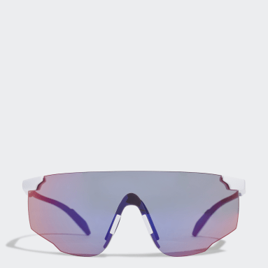 Hardlopen Wit Sport Zonnebril SP0031-H
