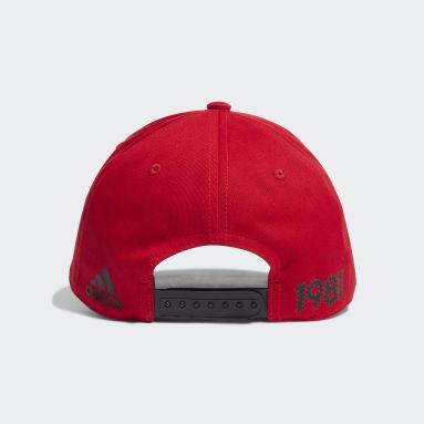 Boné Baseball CR Flamengo Vermelho Futebol
